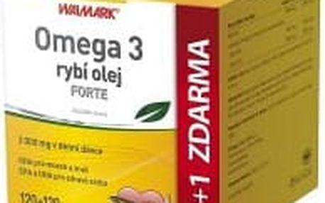 WALMARK Omega 3 rybí olej Forte 120 + 120 tablet zdarma