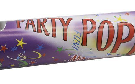Párty vystřelovací konfety v tubě - velké