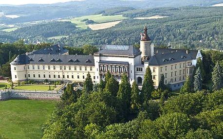 Romantický wellness pobyt na zámku v Chateau hotelu Zbiroh*****