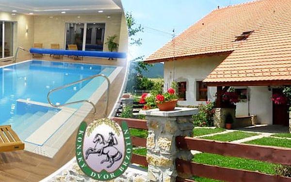 Slovenský Kras na 3, 4 nebo 6 dní pro dva: polopenze, kaýždodenní vstup bazénu a mini ZOO
