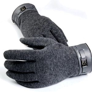 Pánské rukavice na dotykový displej - 3 barvy - poštovné zdarma