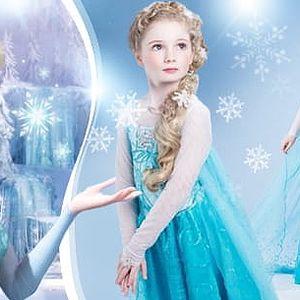 Ledové království - Frozen! Pohádkové šaty princezny Elsy ve více velikostech včetně poštovného