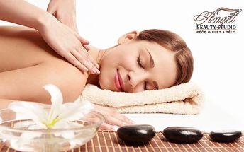 60minutová masáž dle vašeho výběru v Praze