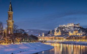 Výlet do Salzburgu v době adventu vč. dopravy