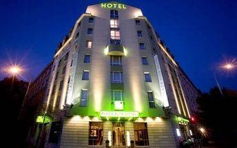 Praha luxusně ve 4* hotelu se snídaní