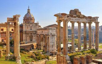 Řím, Florencie, Pisa s ubytováním a snídaní