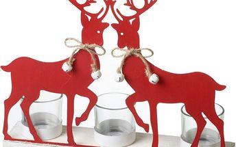 Stojan na svíčky Parlane Reindeer - doprava zdarma!