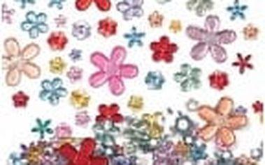 Samolepící akrylové květiny