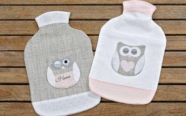 Sada 2 obalů na zahřívací lahve Owl - doprava zdarma!