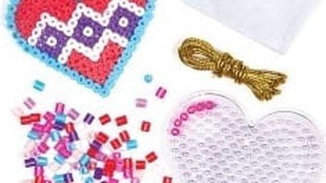 Zažehlovací korálky srdce (6ks)