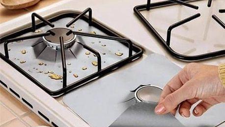 Ochranné fólie na kuchyňský sporák 4 ks