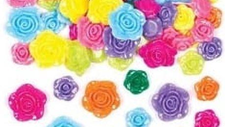 Korálky - růže (160 ks)