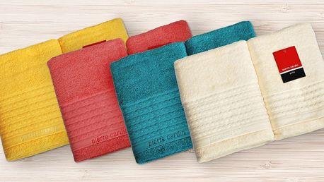 Dárková sada ručníku a osušky Pierre Cardin