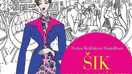 Šik omalovanky - Buďte trendy a stylová