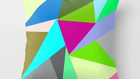 Povlak na polštář Triangle VI, 45x45 cm - doprava zdarma!