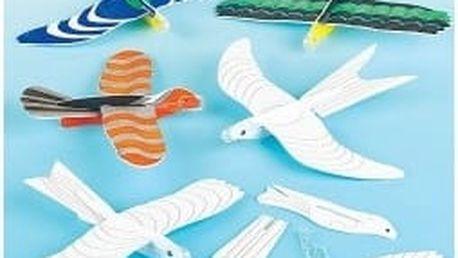 Letadýlka - ptáci (6ks)