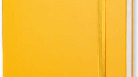 Žlutý zápisník Moleskine Hard, malý - doprava zdarma!