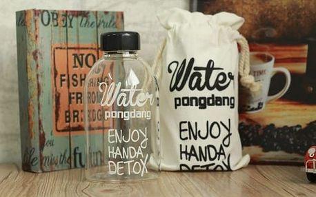 Univerzální láhev s nápisy Enjoy 600 ml