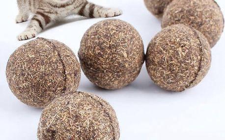 Catnipový míček pro kočky
