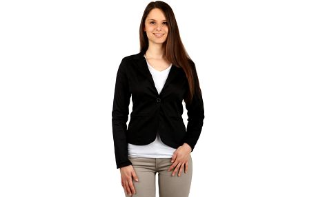 Klasické černé dámské sako