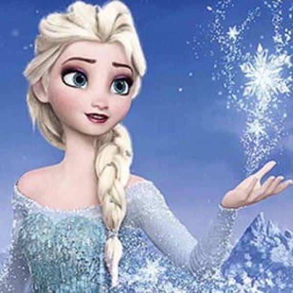 Pohádkový kostým Frozen princezna Elsa z Ledového království s doručením zdarma3