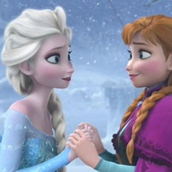 Pohádkový kostým Frozen princezna Elsa z Ledového království s doručením zdarma5