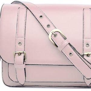 Dámská růžová kabelka Number 1119