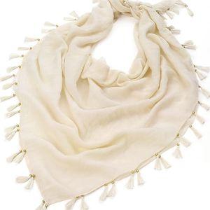 Dámský krémový šátek Rosana 29836