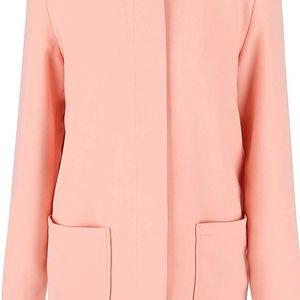 Růžový kabát VILA Cory