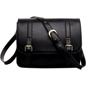 Dámská černá kabelka Number 1119