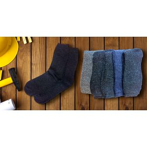 Pracovní ponožky: Zima vás od díla neodžene