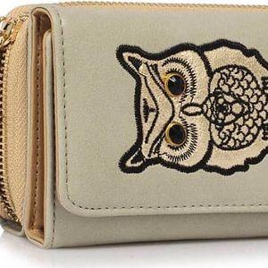 Dámská šedá peněženka Anastasia 1080