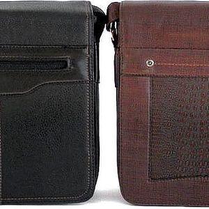 Praktická pánská taška přes rameno ve 2 barvách