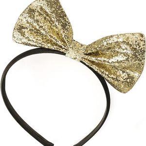 Zlatá čelenka do vlasů Minnie 30549