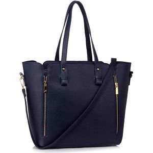 Dámská námořnicky modrá kabelka Fabiano 502