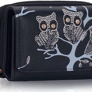 Dámská peněženka Owl 1045 námořnická modrá