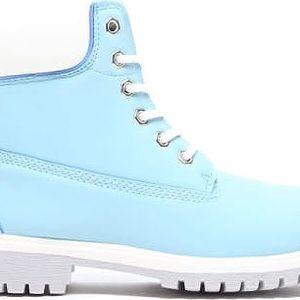 Dětské modré kotníkové boty Crazy 8160