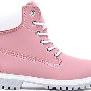 Dětské růžové kotníkové boty Crazy 8160