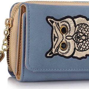 Dámská modrá peněženka Anastasia 1080