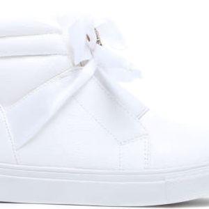 Dětské bílé kotníkové boty Happy 2038a