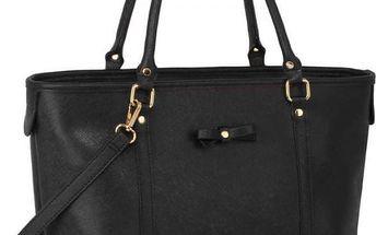 Dámská černá kabelka fabira 507