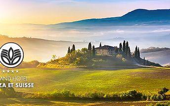 Itálie, Toskánsko na 6 dní pro dva v luxusním hotelu**** s polopenzí a bazénem, platí rok