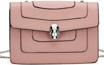 Dámská růžová kabelka Leticia 2023