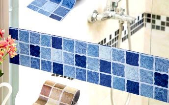 Nalepovací pás na stěnu - mozaika