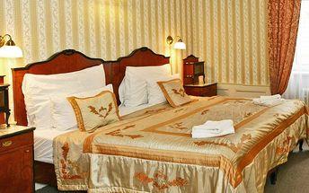 Cesta do minulosti v hotelu v centru Prahy