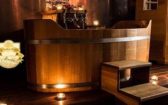 Luxusní tibetská relaxační koupel pro 2 osoby