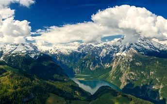 Hitlerovo Orlí hnízdo a jezero Königssee, Berchtesgaden, Německo, autobusem, bez stravy