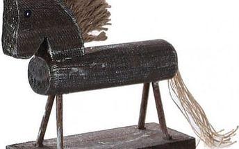 Ručně vyrobený dřevěný koník