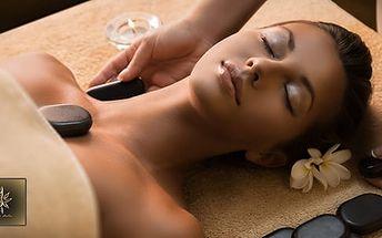 60min. celotělová masáž lávovými kameny nebo reflexní masáž nohou a chodidel: 1x nebo 5x