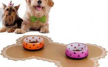 Podložka na misky pro psy